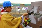 У Мінску асвяцілі краевугольны камень будоўлі капуцынскай святыні